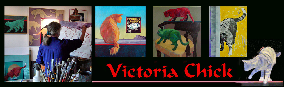 Figurative painter Victoria Chick in Silver City, NM.